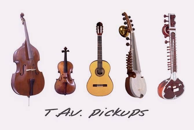 Tav Pickups Acoustic Guitar Pickup Classic And Concert